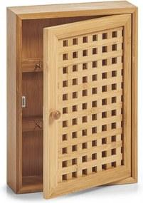 Dulapior maro din lemn de bambus Key Box Brown Zeller