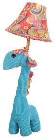 Veioza Copii in forma de Girafa, Albastru