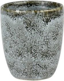 Cană din ceramică fără toartă pentru espresso Bitz Mensa, gri