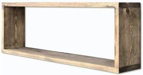 Raft suspendat din lemn Simple