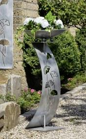 Suport flori GINKGO, metal, 110x50 cm