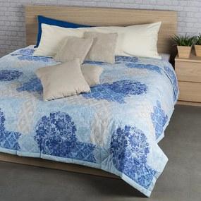 Night in Colours Cuvertură de pat Ottorino albastră, 160 x 220 cm, 160 x 220 cm