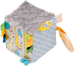 Cub textil BABY - Girafele colorate