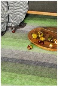 Covor reversibil Narma Luke, 70 x 140 cm, verde