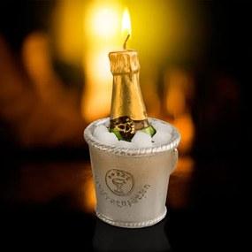 Lumânare Decorativă Șampanie