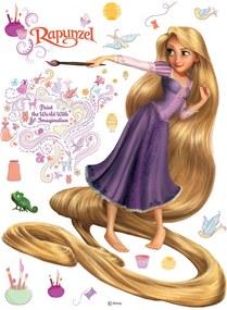 Rapunzel Disney - autocolant de perete 65x85 cm