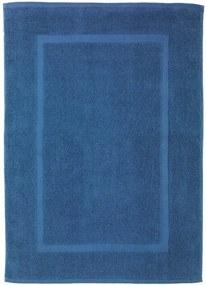 Covor baie din bumbac Wenko Slate, 50 x 70 cm, albastru