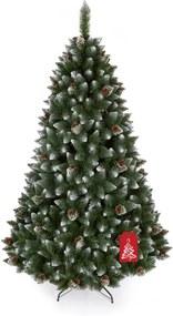 Brad de Crăciun Pin cu capete albe 180 cm