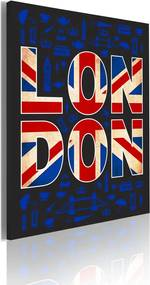 Tablou - All about London 50x70