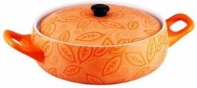 Cratita ceramica rotunda cu capac,2 Litri,23 cm