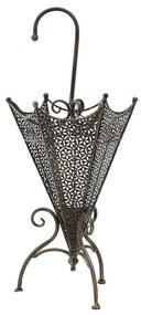Suport umbrela metalic Antique Bronze 35 cm x 35 cm x 70 cm