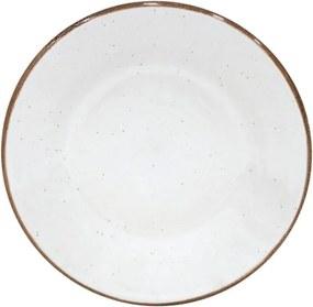 Farfurie desert din ceramică Casafina Sardegna, ⌀ 24 cm, alb