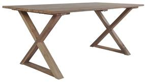246811 vidaXL Masă de grădină, 180 x 90 x 76 cm, lemn reciclat de tec