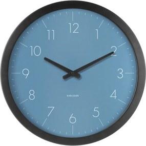 Ceas de perete Karlsson Dainty, albastru