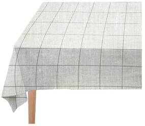 Față de masă Linen Couture Green Lines, 140 x 140 cm