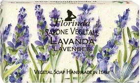 Sapun vegetal hidratant pentru maini, fata si corp - Magia dei Fiori - Flori de lavanda
