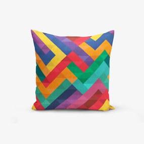 Față de pernă Minimalist Cushion Covers Colorful Geometric Desen, 45 x 45 cm