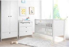 Klups - Mobilier camera copii si bebelusi Leon, Alb