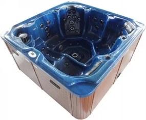 Minipiscina Sanotechnik Oasis Maxi, 210x210x92cm albastru -SPA13