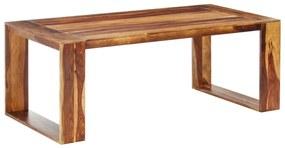 286351 vidaXL Masă de bucătărie, 200 x 100 x 76 cm, lemn masiv de sheesham