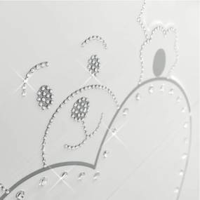 Dulap bebe Lulu cu 2 usi si sertar Ivory, Design Italian Erbesi, Italia