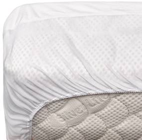 Protectie saltea impermeabila din bumbac cu elastic, 120 x 190