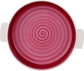 Vas ceramic rotund Villeroy & Boch Clever Cooking 28cm roz