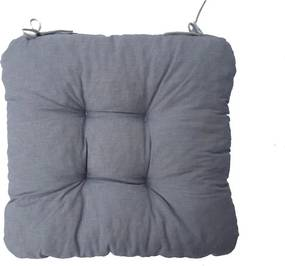 Pernă scaun Soft gri deschis