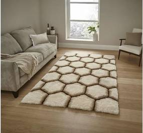 Covor Think Rugs Noble House, 120 x 170 cm, crem