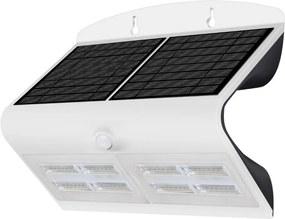 Immax 08429L - Aplica solara de perete cu senzor LED/6,8W IP65 alb