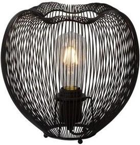 Lucide 20501/25/30 - Lampa de masa WIRIO 1xE27/60W/230V negru 26 cm