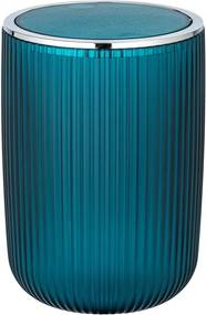Coș de gunoi Wenko Acropoli, 5,5 l, verde petrol