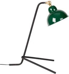Lampa birou din metal cu abajur verde Jock Green White Label