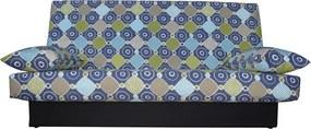 Canapea extensibila clic clac, cu 3 locuri , Ama Blue