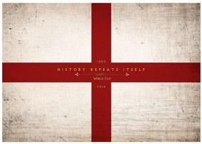 Fototapet Bimago - History repeats itself + Adeziv gratuit 350x245 cm