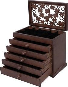 Cutia pentru bijuterii Yasmine