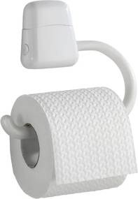 Suport pentru hârtie igienică Wenko Pured, alb