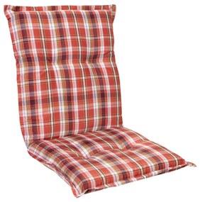 Prato, pernă tapițată, pernă pentru scaun, spătar mic, scaun de gradină, poliester, 50x100x8cm