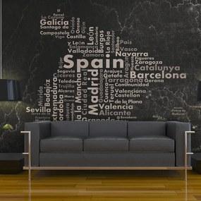 Fototapet Bimago - Spain - Big Cities, Small Towns... + Adeziv gratuit 400x309 cm