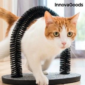Suport de Ascuțit Gheare pentru Pisici și Cerc de Masaj InnovaGoods