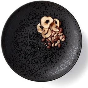 Farfurie Ceramica Neagra GLAZE - Ceramica Negru Diametru( 40 cm)