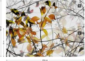 Fototapet GLIX - Autumn Song + adeziv GRATUIT Tapet nețesute - 254x184 cm
