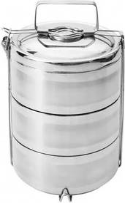 Recipient termoizolant pentru alimente Orion, 3 nivele