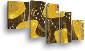 GLIX Tablou - Abstract Art in Earth Tones II 100x75 cm