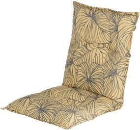 Pernă pentru scaun de grădină Hartman Lily, 100 x 50 cm, galben