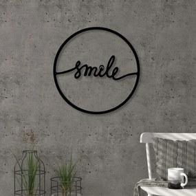 Decorațiune pentru perete Smile, ⌀ 40 cm