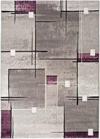 Covor Universal Detroit, 80 x 150 cm, gri - violet