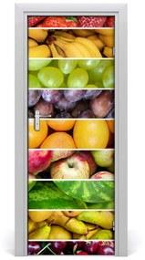 Autocolante pentru usi fructe colorate
