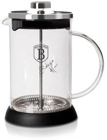 Infuzor pentru cafea si ceai 600 ml Black Silver Collection Berlinger Haus BH 6302