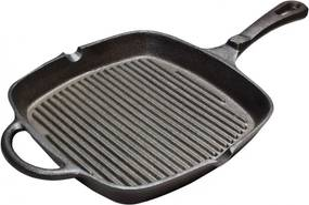 Tigaie grill SQ, fonta, 24x24 cm